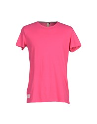 Shoeshine Topwear T Shirts Men Fuchsia