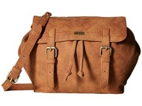 Roxy Latest Hits Camel Cross Body Handbags Tan