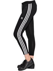 Adidas Viscose Cotton Thin Knit Cigarette Pants