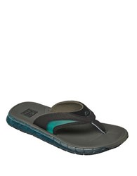 Reef Boster Slip On Sandals Charcoal