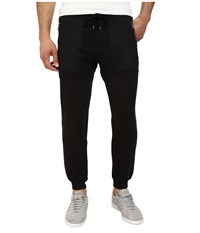 Michael Kors Mesh Pocket Track Pant Black Men's Casual Pants