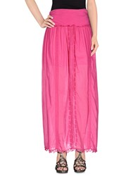 Patrizia Pepe Skirts Long Skirts Women Fuchsia