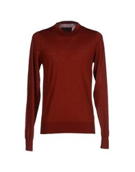 Patrizia Pepe Knitwear Jumpers Men Maroon