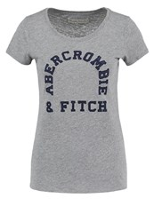 Abercrombie And Fitch Print Tshirt Med Grey