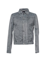 Calvaresi Denim Outerwear Grey