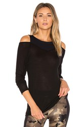 Koral Hold Long Sleeve Top Black