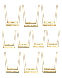 Coordinates Collection 22K Gold Plated Layered Equator Pendant Necklace