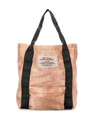 Diesel Compact Fold Up Shopper Neutrals