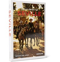 Assouline In The Spirit Of Seville Hardcover Book Brown