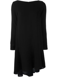 Osman Longsleeved Shift Dress Black