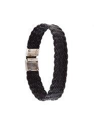 Title Of Work 15Mm Single Wrap Bracelet Black
