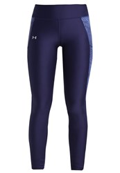 Under Armour Fly By Tights Midnight Navy Dark Blue