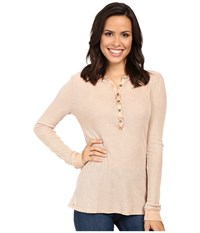 Project Social T Layer Me Thermal P. Apricot Women's Sweatshirt Beige