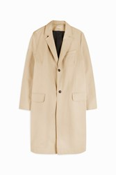 Paul Joe Men S Fivanov Single Breasted Coat Boutique1 Beige
