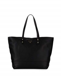 Cole Haan Beckett Leather Work Tote Bag Black