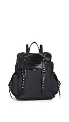 Rebecca Minkoff Bowie Nylon Backpack Black