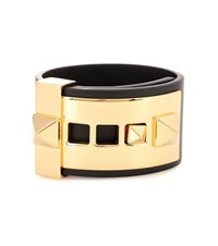 Valentino Garavani Rockstud Leather Cuff Black