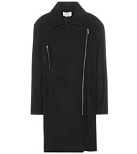 Etoile Isabel Marant Elsa Virgin Wool And Cashmere Blend Coat Black