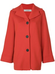 D.Exterior Cape Style Coat Women Polyester Wool S Red