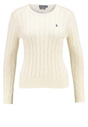 Polo Ralph Lauren Julianna Jumper Cream Off White