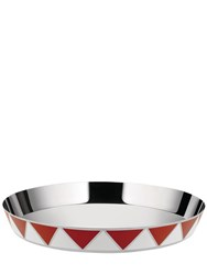 Alessi Circus Triangles Round Serving Tray