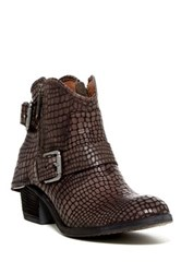 Donald J Pliner Dalis Textured Ankle Boot Gray