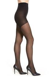 Emilio Cavallini Hosiery Women's Emilio Cavallini Bow Back Seam Pattern Tights Black