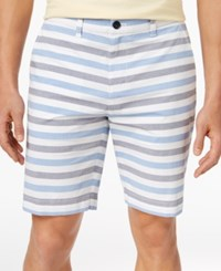 Tommy Hilfiger Men's Newman Stripe Shorts Nautical Blue