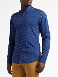 Scotch And Soda Classic Oxford Long Sleeve Shirt Combo C