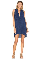 Blue Life Sleeveless Shift Dress Navy