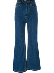 Marc Jacobs Flared Jeans Blue