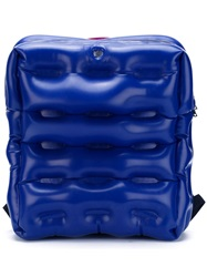 Christopher Raeburn Rubber Back Pack Blue
