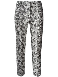 Eggs 'Andrian' Slim Fit Trousers White