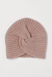 Handm H M Rib Knit Turban Brown