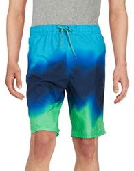 Nike Liquid Haz Swim Shorts Electro Green