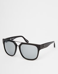 Vivienne Westwood Anglomania Straight Edge Sunglasses Black
