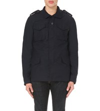 Alpha M6 5 Heritage Cotton Blend Jacket Navy