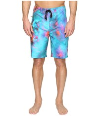 Hurley Phantom Jjf 3 Nebula 20 Boardshorts Bright Aqua Men's Swimwear Blue