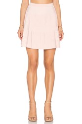 Egrey Ribbed Mini Skirt Light Pink