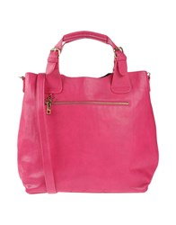 Manila Grace Denim Bags Handbags Women Fuchsia