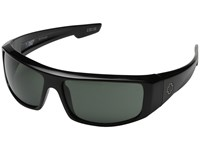 Spy Optic Logan Black Happy Gray Green Sport Sunglasses