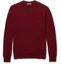 Burberry Hennings Cashmere Sweater Red