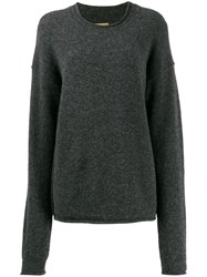 Uma Wang Oversized Jumper Grey