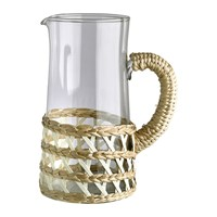 Pols Potten Reed Glass Jug