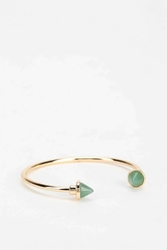 Urban Outfitters Pointed Stone Adjustable Bracelet Mint