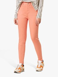 French Connection Mid Rise Skinny Rebound Jeans Rose Dawn