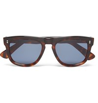 Cutler And Gross D Frame Tortoiseshell Acetate Sunglasses Brown