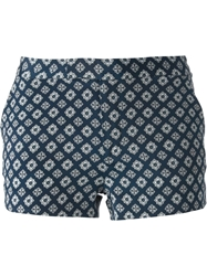 Joseph 'Delauney' Shorts Blue