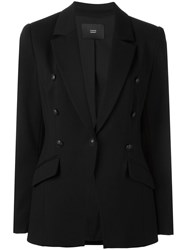 Steffen Schraut One Button Blazer Black