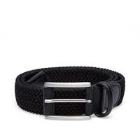 Andersons Anderson's Woven Textile Belt Black And Black